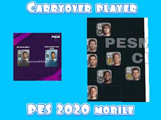 Gambar carryover player PES 2020 mobile