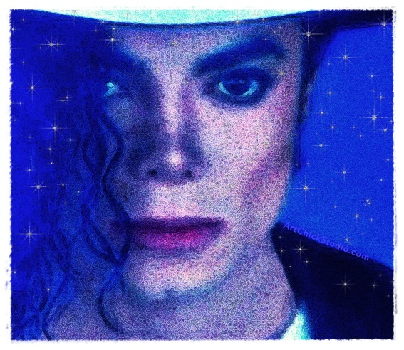 MJ Stars Michael Jackson Art