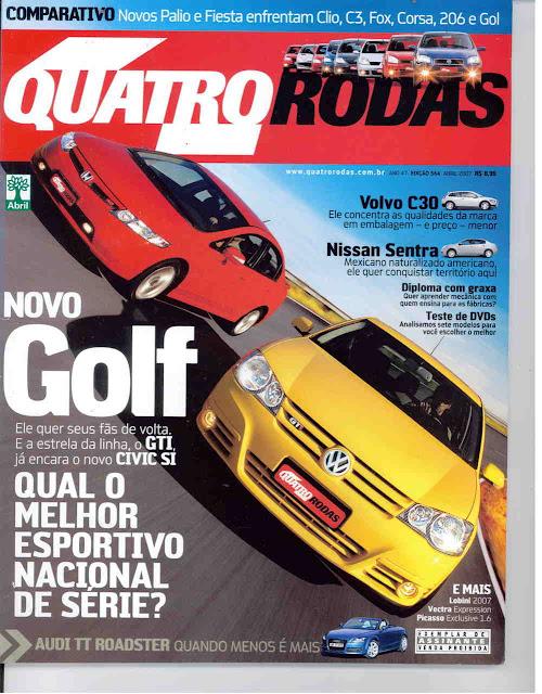 Capa Revista Quatro Rodas de 2007