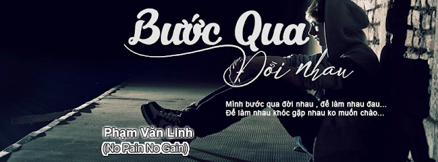 PSD Ảnh Bìa BƯỚC QUA ĐỜI NHAU - Lê Bảo Bình cực đẹp !!!