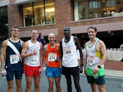 Image of the top finishers at the 2017 Race to Beat Cancer 5K