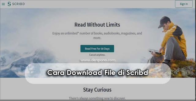 Cara Download File di Scribd (100% Gratis)