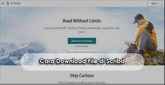 Cara Mudah untuk Download File di Scribd Cara Download File di Scribd (100% Gratis)