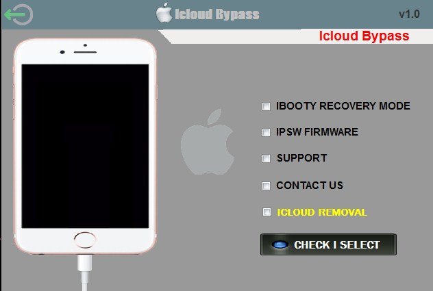 Icloud Bypass Unlocker Tools v1.0 Free Download By Jonaki TelecoM