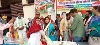कानपुर : सपा महिला सभा अध्यक्ष नूरी शौकत द्वारा स्वास्थ्य परीक्षण शिविर का आयोजन