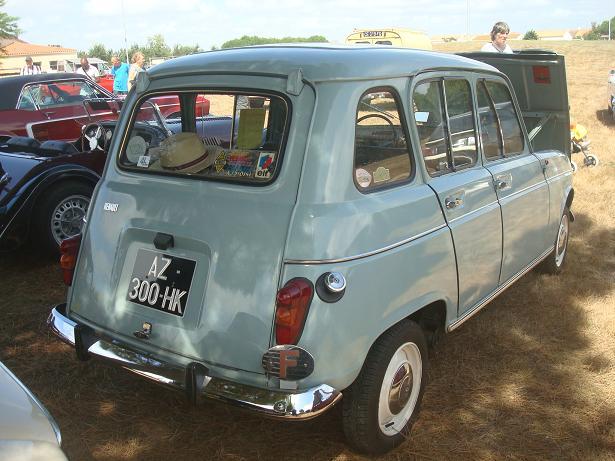 Bekannt BALADES EN VENDEE: Voitures anciennes (10) : la Renault 4 (4L) TP23