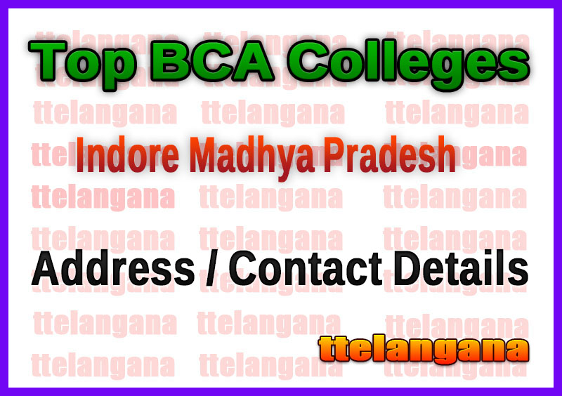 Top BCA Colleges in Indore Madhya Pradesh