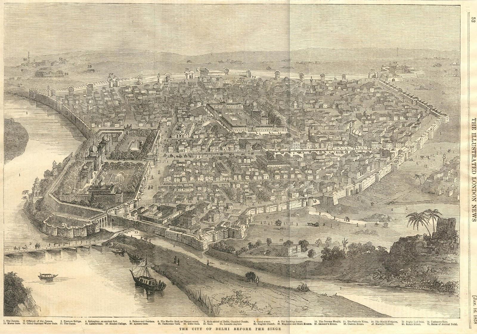 दिल्ली 1858