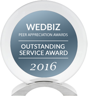 DJ:Plus! Entertainment Awarded Outstanding Service Award & Creative Talent Award in 2016 WedBiz Peer Appreciation Awards
