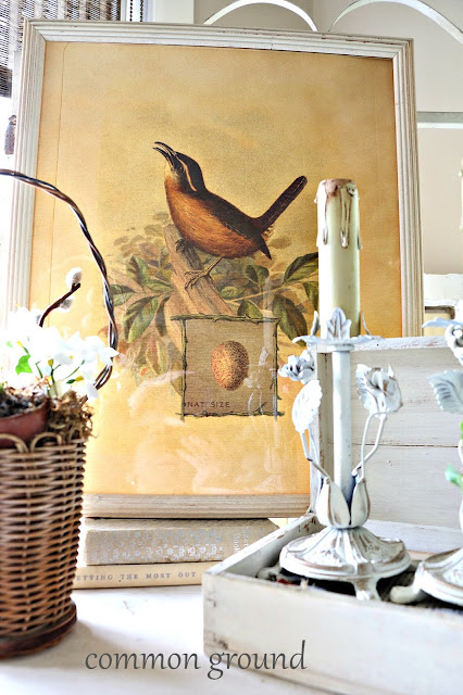Common Ground Vintage Etagere In The Garden Room