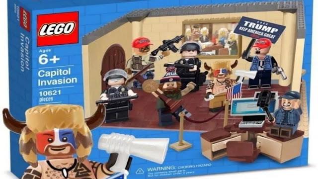 """لعبة """"اقتحام الكونجرس"""" Capitol Invasion تغزو متاجر الألعاب الأمريكية"""
