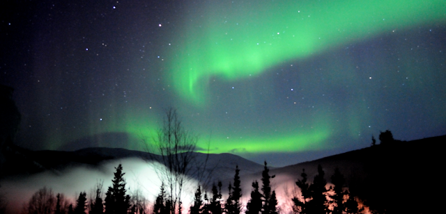 Photo of Northern Lights by NOAA