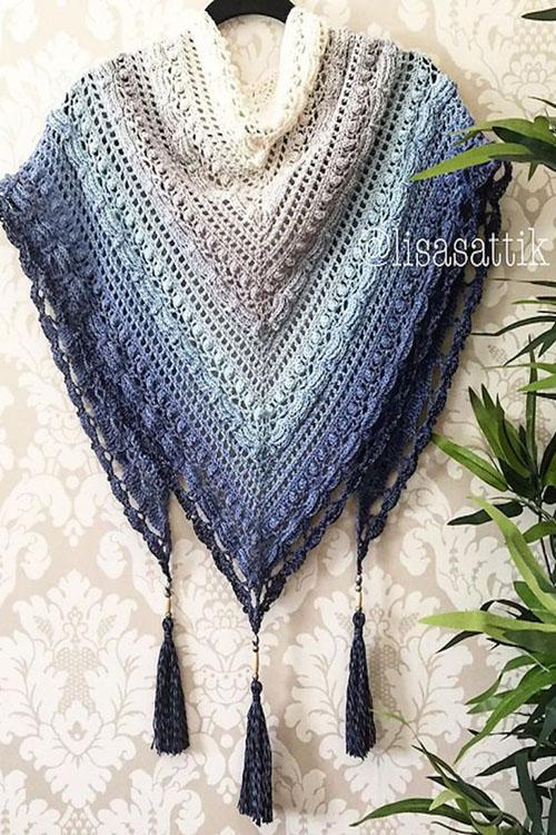 Free Knitting & Crochet Shawl Patterns