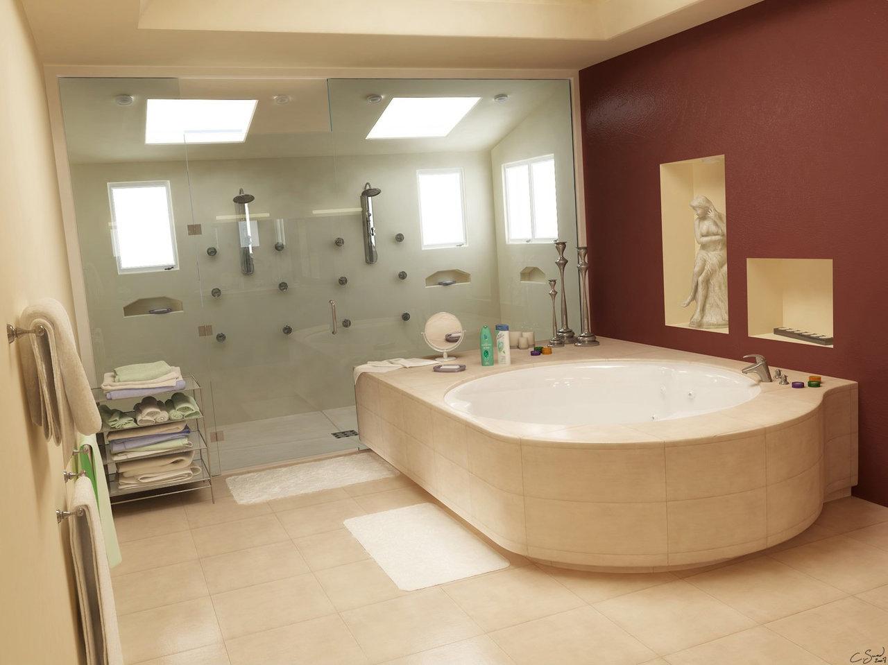 Fancy Small Bathrooms: Luxury Small Bathroom Design Ideas