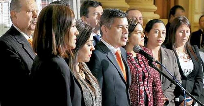MINISTROS DEBERÁN DEJAR SUS CARGOS: Fujimoristas rechazaron cuestión de confianza solicitada por Fernando Zavala