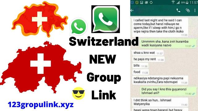 Join 3000+ Switzerland Whatsapp Group Links