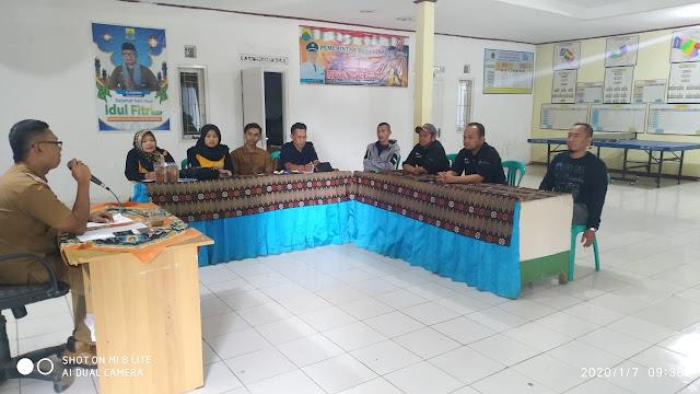 Rapat Koordinasi Pengurus BUMDesa Mantap bersama E-Warong di Desa Cidadap