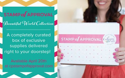 Stamp of Approval Beautiful World - Blog Hop!!