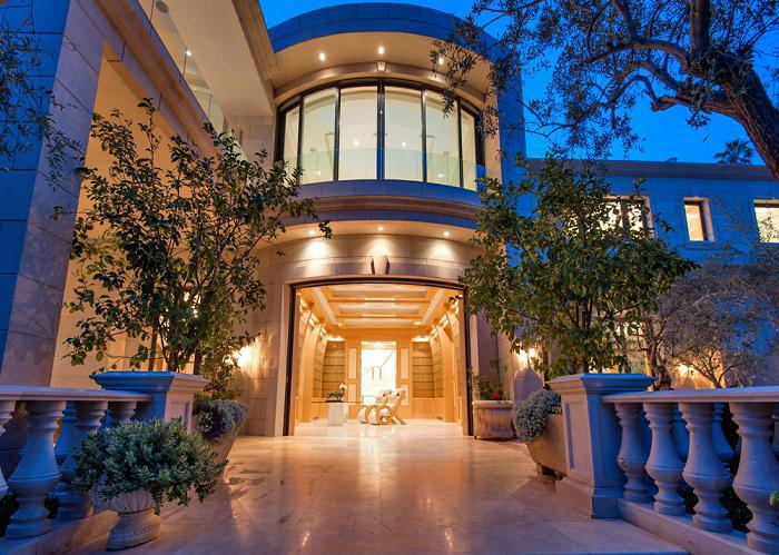 loveisspeed Le Palais mansion by Mohamed Hadid design