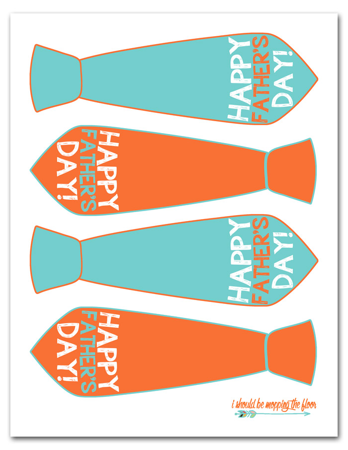 Free Printable Happy Father's Day Gift Tags
