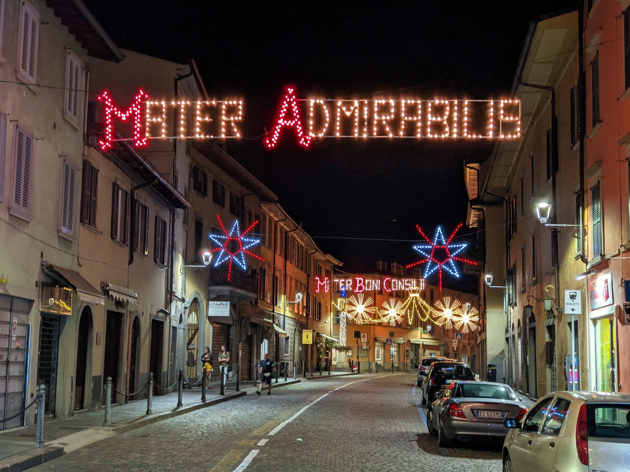 Santa Caterina Bergamo - Festa dell'Apparizione - Mater Admirabilis