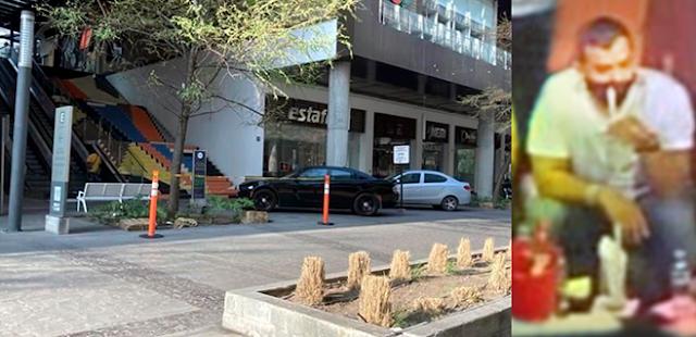 Trasciende El Choco Metro-90 del Cártel del Golfo es ejecutado en estacionamiento de Bar en Monterrey con calibre 40