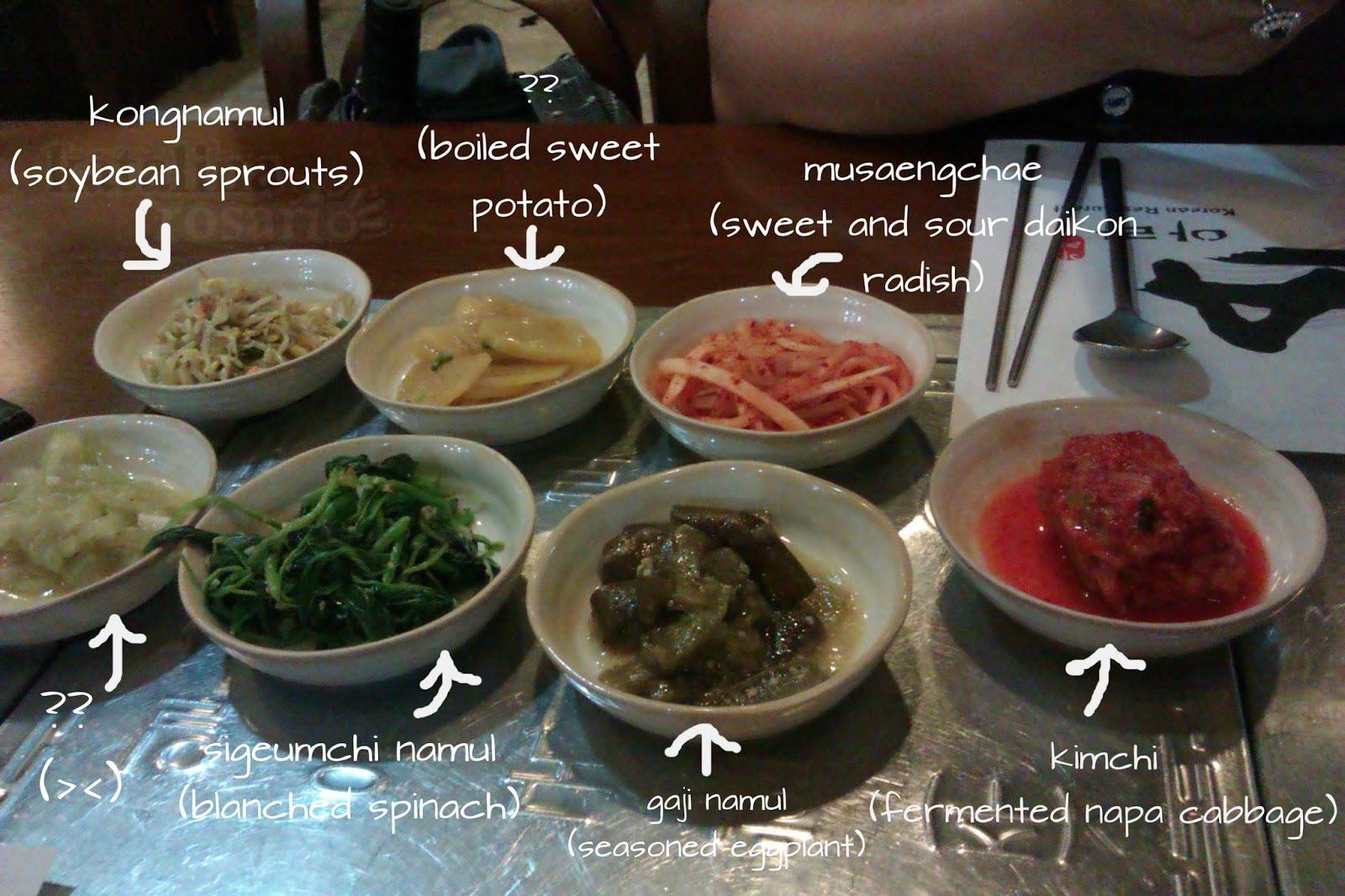 Ara Korean Restaurant Menu