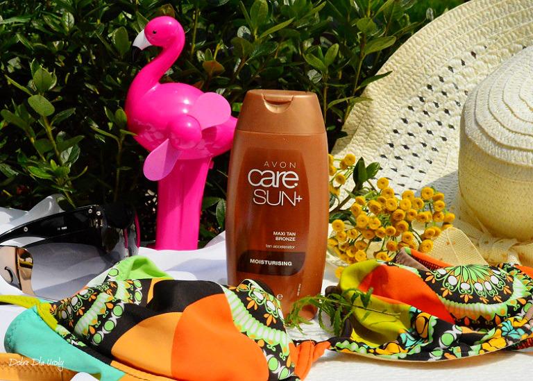 Avon Care Sun+ Balsam z beta karotenem przyspieszający opalanie SPF 5- recenzja