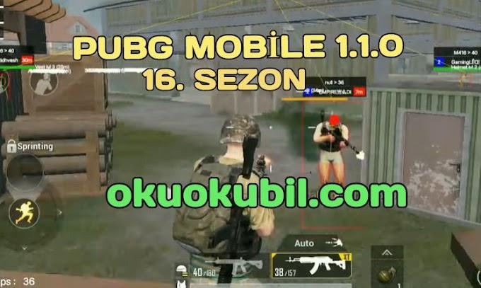 Pubg Mobile 1.1.0 GL + KR Bad Joker YT Menu Hilesi İndir Sezon 16 Yeni