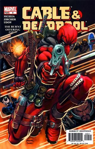 Portada Deadpool y Cable
