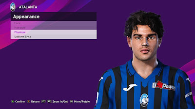 PES 2020 Faces Jacopo Da Riva by Sofyan Andri