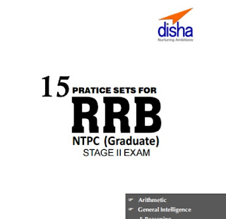 RRB NTPC Main Exam 15 Practice Set Book