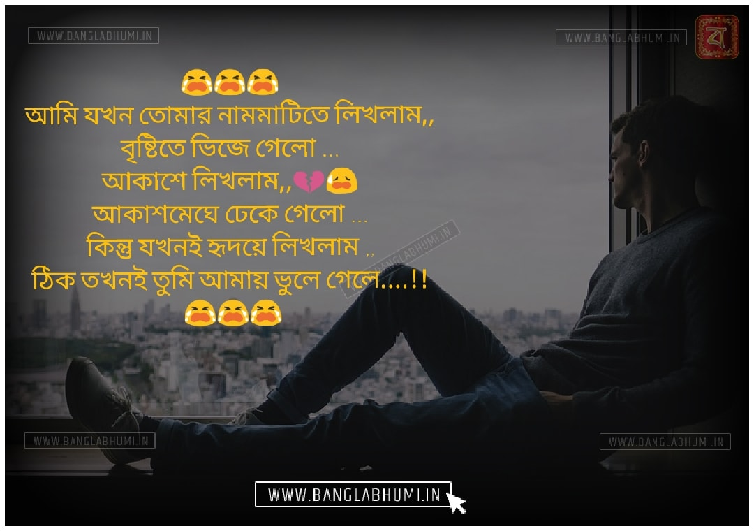 Bangla Whatsapp & Facebook Sad Love Shayari share