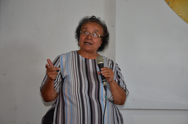 Professora Iraci Gama participa de Jornada Pedagógica e enaltece história de Alagoinhas