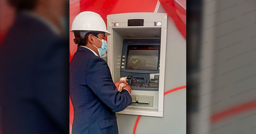 Pobladores de Yanahuanca en Pasco ya cuentan con Cajero Automático del Banco de la Nación