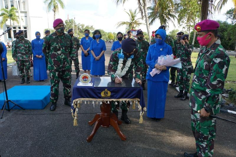 Danlantamal IV Tanjungpinang Laksanakan Exit Briefing Diakhir Masa Penugasannya
