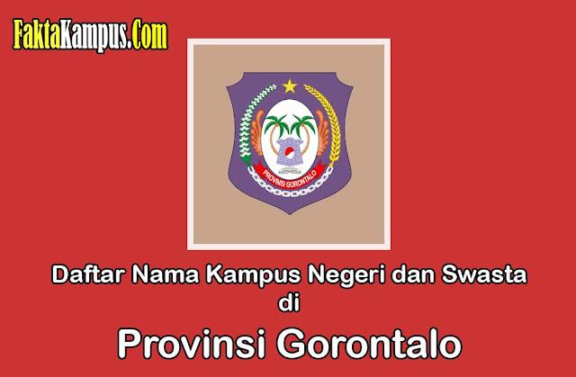 Kampus di Provinsi Gorontalo