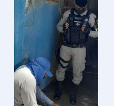Em Delmiro Gouveia, operação da Casal e PM combate fraudes  e vazamentos de água em povoados