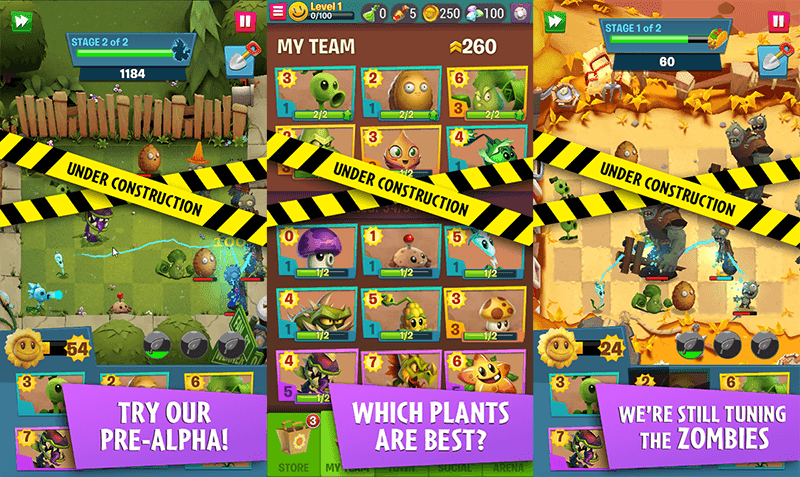 EA releases Plant vs. Zombies 3 for testing on Android