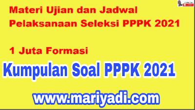 Contoh Soal P3k Pppk Honorer Soal Kemampuan Integritas Dan Sosio Kultural Untuk Seleksi Pppk Tahun 2021 Dan Kunci Jawaban Mariyadi Com
