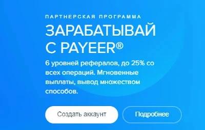 Payeer партнерская программа.
