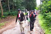 Aksi Bela Palestina, Warga Tasikmalaya Long March ke Gunung Galunggung