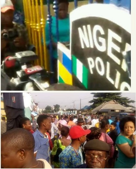 Wike Leads Protest to Police Headquarters, Demands Redeployment of SARS Operative