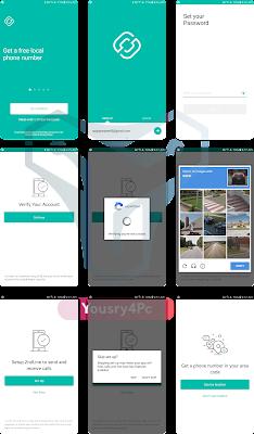تحميل تطبيق 2ndLine - US Phone Number  للحصول علي رقم أمريكي مجاناً