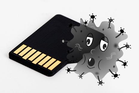 كيف تسترجع الصور التي حذفتها الڤيروسات من بطاقة الذاكرة