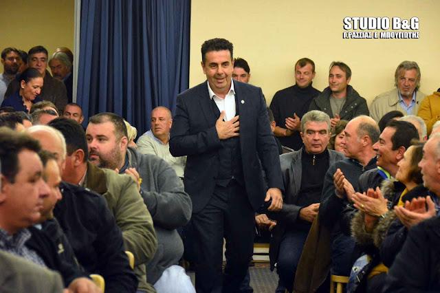 Με μεγάλη προσέλευση ο απολογισμός του Δημάρχου Ναυπλιέων Δημήτρη Κωστούρου (βίντεο)