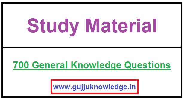 700 General Knowledge Questions