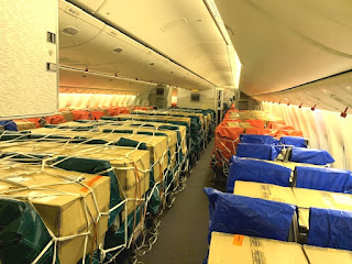 Emirates SkyCargo completes one year of transporting urgently required cargo on passenger seats and in overhead bins
