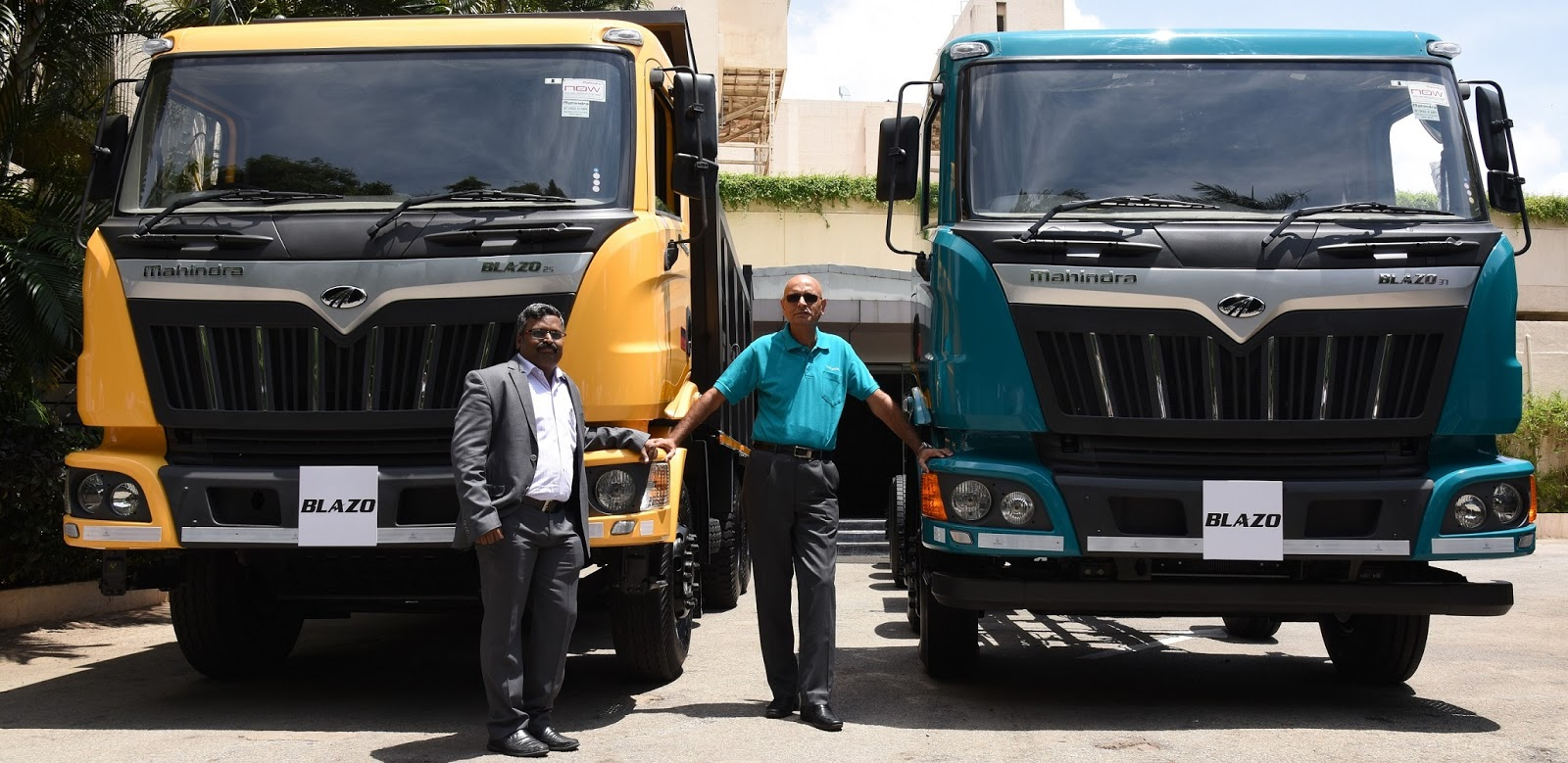 Mr Nalin Mehta Chief Executive Officer Mahindra Truck And Bus Division Ltd At The Launch Of Blozo Trucks In Bengaluru