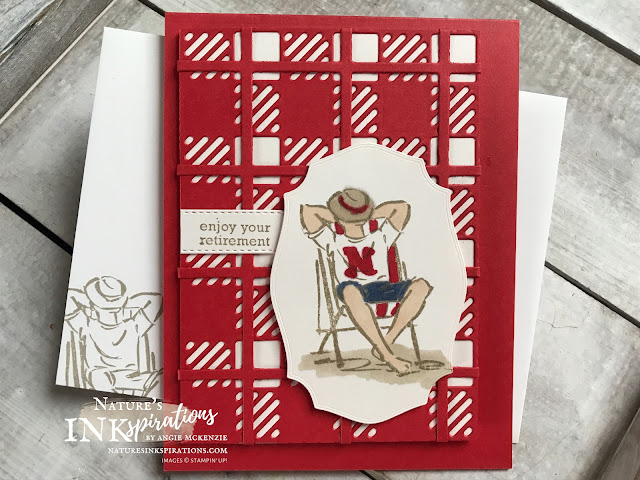 By Angie McKenzie for Kre8tors Blog Hop; Click READ or VISIT to go to my blog for details! Featuring the Best Year Bundle consisting of the Best Plaid Builder Dies and Best Year Stamp Set along with the Tasteful Labels Dies and A Good Man stamp set by Stampin' Up!; #bestyearbundle #bestyearstampset #bestplaidbuilderdies #tastefullabelsdies #agoodmanstampset #naturesinkspirations #coloringwithblends #alcoholmarkers #makingotherssmileonecreationatatime #cardtechniques #stampinup #handmadecards #masculinecards #kre8torsbloghop
